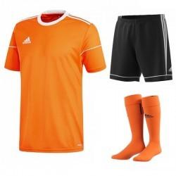 Komplet Adidas Squadra 17 Set Pomarańczowy/Czarny