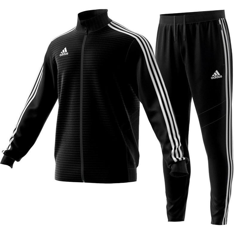445d6e13037fe Dres Adidas Tiro 19 Komplet Czarny