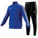 Dres Adidas Tiro 19 Komplet Niebieski