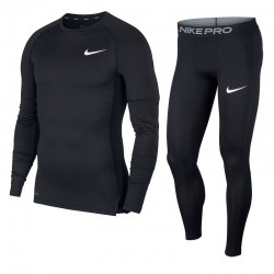 Komplet Nike Pro Compression Crew