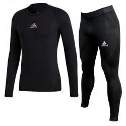Komplet Adidas AlphaSkin LS