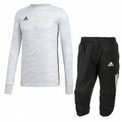 Komplet bramkarski Adidas JR AdiPro 19 Biały
