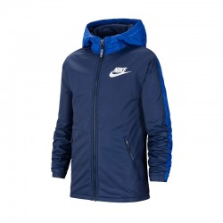 Kurtka Nike JR NSW Fleece Linded 410