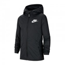 Kurtka Nike JR NSW Fleece Linded
