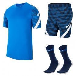 Komplet treningowy Nike Dri-FIT Strike 21 NiebieskiGranatowy