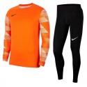 Strój bramkarski dla dzieci Nike JR ParkGardien Pomarańczowy