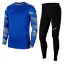 Strój bramkarski dla dzieci Nike JR ParkGardien Niebieski
