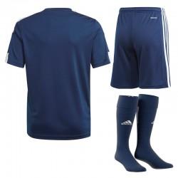 Strój piłkarski dla dzieci Adidas JR Squadra 21 Granatowy