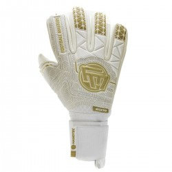 Rękawice Football Masters Voltage Plus White Gold NC 4.0