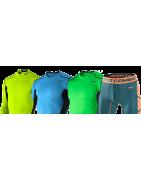 Bielizna termoaktywna dla piłkarzy, komplety Adidas, Nike, Puma